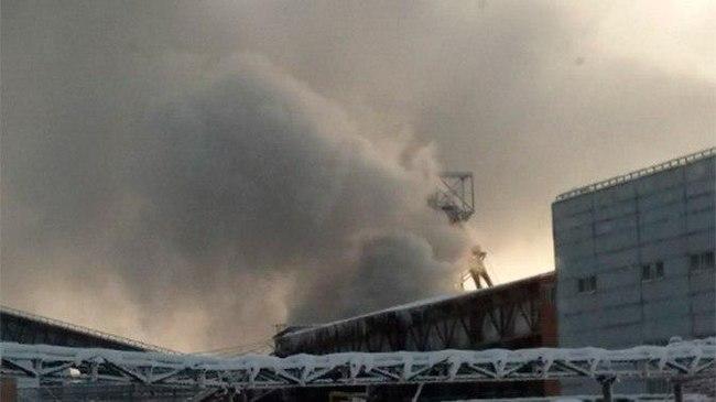 В Соликамске на улице Степана Разина ночью произошел пожар